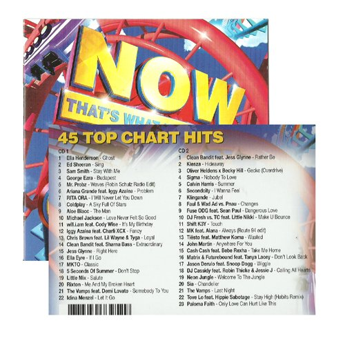 Hit Music incl. Calling All Hearts (Compilation CD, 45 Tracks) (Jessie J Robin Thicke Calling All Hearts)