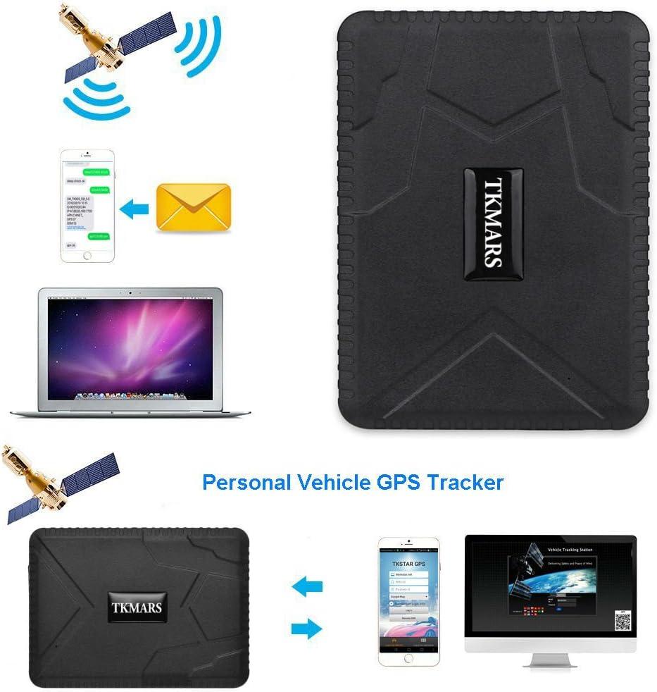GPS Tracker vehicule TKMARS Locator Traceur GPS localisateur Voiture GPS Antivol Voiture Moto Camion