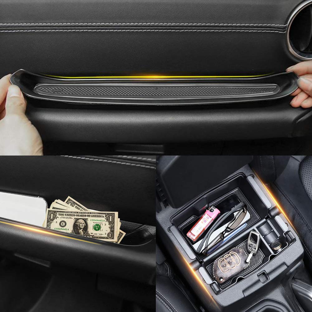 Grab Tray Passenger Storage for Jeep Wrangler Accessories Interior Accessories for Jeep JL Organizer Jeep Wrangler JL JLU 2018-2019 /& 2020 Jeep Gladiator Accessories