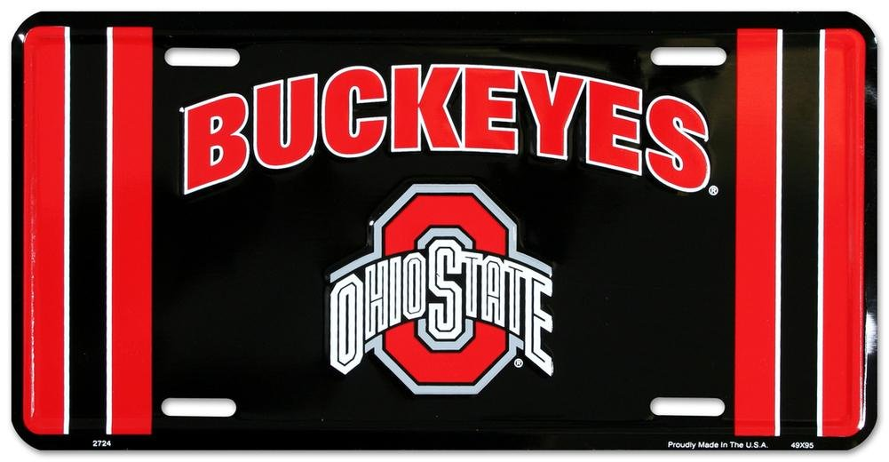 Ohio State Buckeyes License Plate Frame NCAA Pride Plates