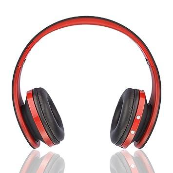 ... auriculares estéreo sonido Surround de alta fidelidad auriculares inalámbricos auriculares con micrófono para iPhone/iPad/PC: Amazon.es: Electrónica