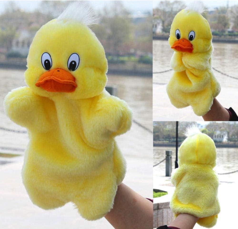 N/C Bebé Animal Peluche Juguete de Peluche Suave Niño Marioneta de Mano Infancia Pato Forma Historia Fingir Muñeca Regalo de educación Infantil