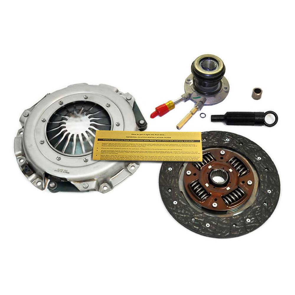 EFT HD CLUTCH KIT+SLAVE CYL 96-01 CHEVY S-10 GMC SONOMA 96-00 ISUZU HOMBRE 2.2L EFORTISSIMO