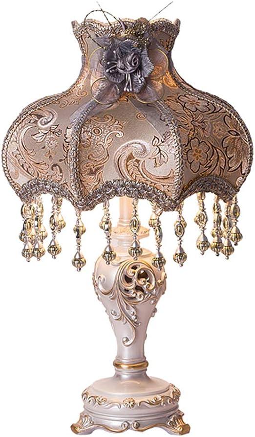 Lámparas de mesa- Antigua, iluminación Interior Luz de cabecera ...