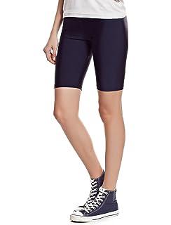 496637590013 Elegance Damen dehnbar Baumwollelycra oberhalb des Knies Shorts Leggings  aktiv