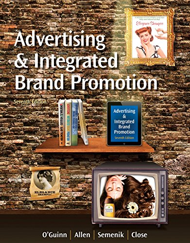 1285187814 - Advertising and Integrated Brand Promotion (with CourseMate with Ad Age Printed Access Card)