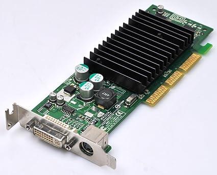 Dell 0G0771 G0771 tarjeta gráfica 64MB AGP bajo perfil DVI ...