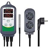 Inkbird ITC-308 Termostato Digital 2 Relés Control la Temperatura Rango del Calefacción y Refrigeración