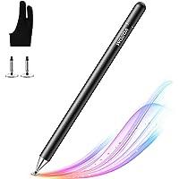Lápiz Stylus Capacitivo Universal con Dibujo Guante, WOEOA Stylus Pen, Bolígrafos Digitales para Pantalla Táctil Ipads…