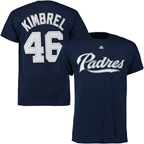 competitive price 01f75 f05e8 Amazon.com : Majestic Craig Kimbrel San Diego Padres Navy ...