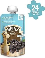 Heinz Papilla para Bebé, Sabor Ciruela, 113 g, 24 Piezas