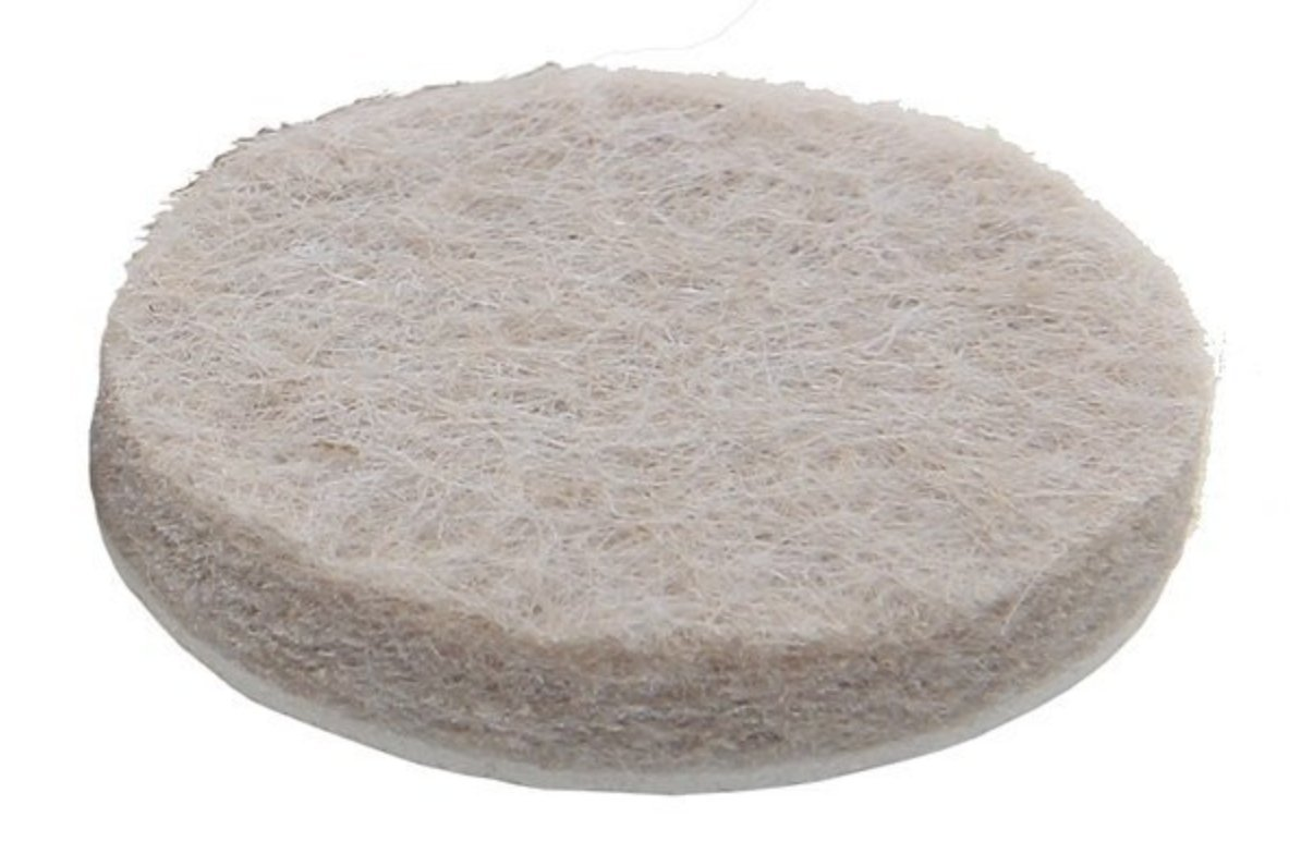 Felt Floor Protectors 24 Beige Furniture Pads Protect
