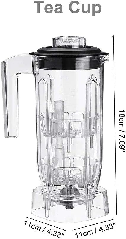 Commercial Blender cup Spare Part 1.5L Container Tea Cream Foam Smoothie