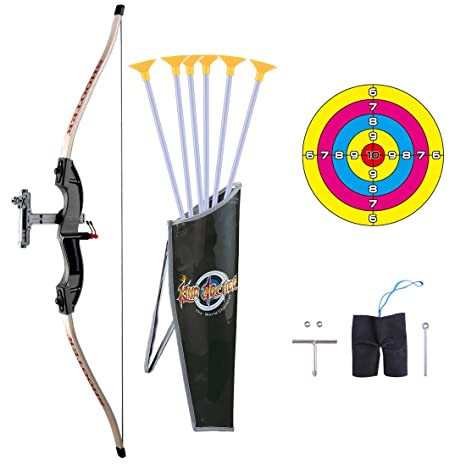 watch on wholesale popular brand Amazon.com: RuiyiF Bow and Arrow for Kids Teens with Target ...