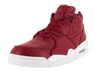 buy popular c5b39 87ef1 Nike Men s NikeLab Air Flight 89 Gym Red Gym Red White Basketball Shoe 6.5