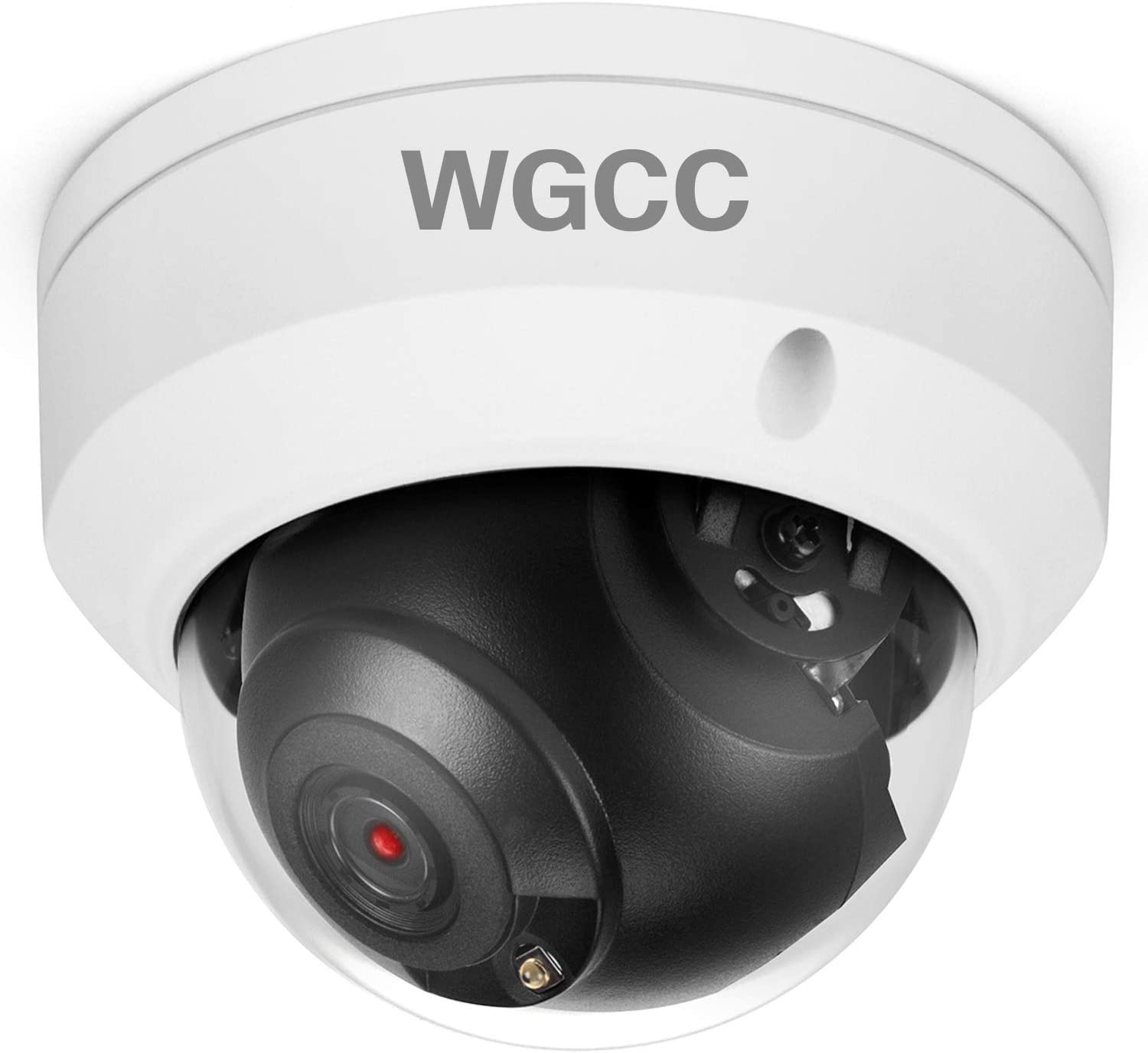 WGCC POE IP Camera Dome HD 4MP H.265 2.8MM Lens Onvif Outdoor Security Camera with 98ft IR Night Vision, Remote Viewing, IP67 Waterproof CCTV Camera for Outdoor and Indoor