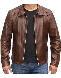 FashionAve Mens James Heller Gaming Prototype 2 PSP Rider//biker Leather Jacket L