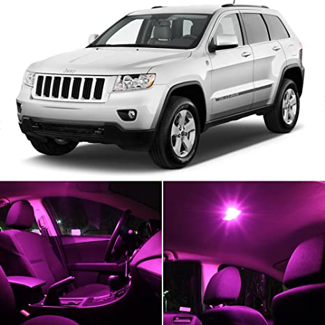 Merveilleux LEDpartsNow Jeep Grand Cherokee 2011   2014 Pink Premium LED Interior Lights  Package Kit (11