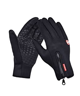 Riiya Touchscreen Gloves Snow Windproof Waterproof Outdoor Sports Gloves