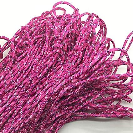 Amazon com: Fincos 10yds/Lot Mxi Color Paracord Bracelets Rope 7
