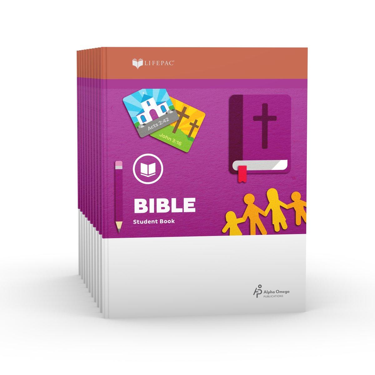 d775668eedb Lifepac Gold Bible Grade 1  Set of 10 Only.  1st Grade ...
