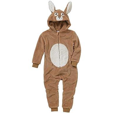 meilleur prix pour Baskets 2018 vente usa en ligne Combinaison Pyjama Lapin Animal Crazy Garçon Polaire Douillet