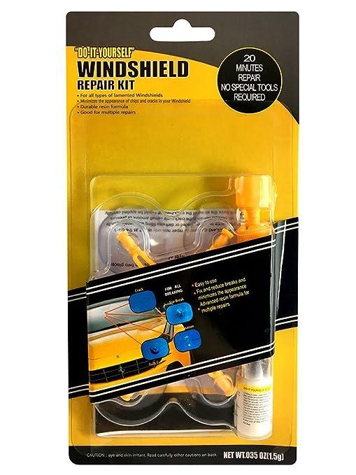 b15900d4348f7 Kit de réparation de pare-brise, Kit d'outils de réparation de fissure de  pare-brise pour la réparation de copeaux de fissure de pare-brise de ...