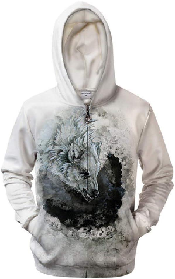 ZIP579 XL WDDGPZWY Hoodie Kapuzenpul r Sweatshirt Weiße Hoodies 3D Sweatshirts Männer Zip Hoody Zipper Sweater Männlichen Mantel Herbst Trainingsanzug Qualität Hoodie
