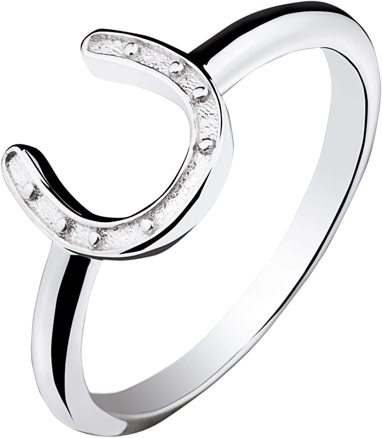 Sterling silver 925  ring Horseshoe