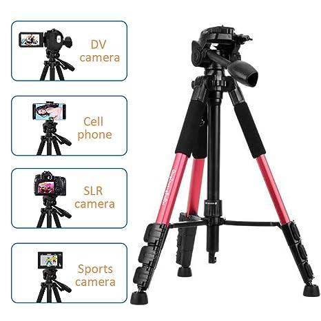 Trípode para cámara, cámara portátil de viaje, cámara réflex ...