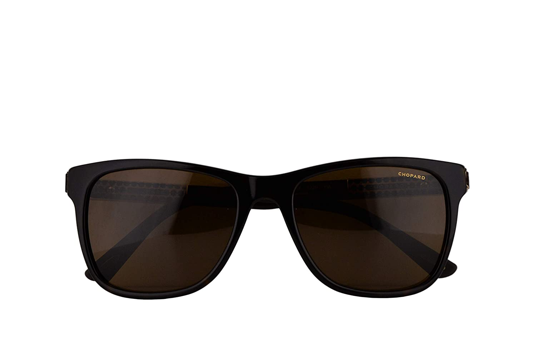 Amazon.com: Chopard SCH218 Sunglasses Dark Havana w ...