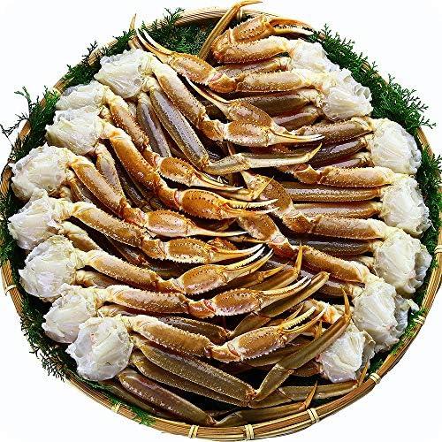 甲羅組 ズワイガニ カニ かに 蟹 超特大 生ずわいがに 足 5kg 5Lサイズ 約12肩入 ロシア 業務用 産地箱