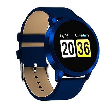 Amazon.com: Monitor de actividad física Q8 reloj inteligente ...