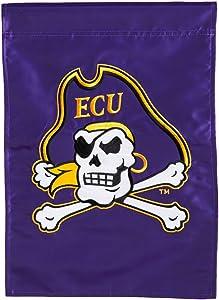 Team Sports America Eastern Carolina University Garden Flag - 13 x 18 Inches