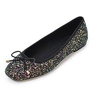 Womens Flats Shoes Ballet Yoga Dancing Simple Soft Suede Dress Shoes