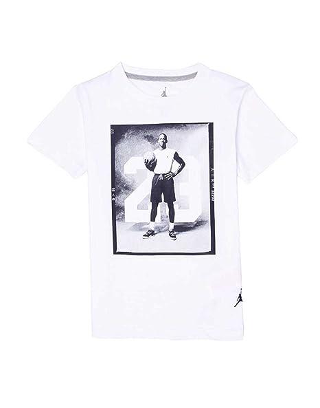 b3bce3a2a0e1 Amazon.com  Boys Jordan 88 Photo Cotton Crew Neck Shirt (Medium ...