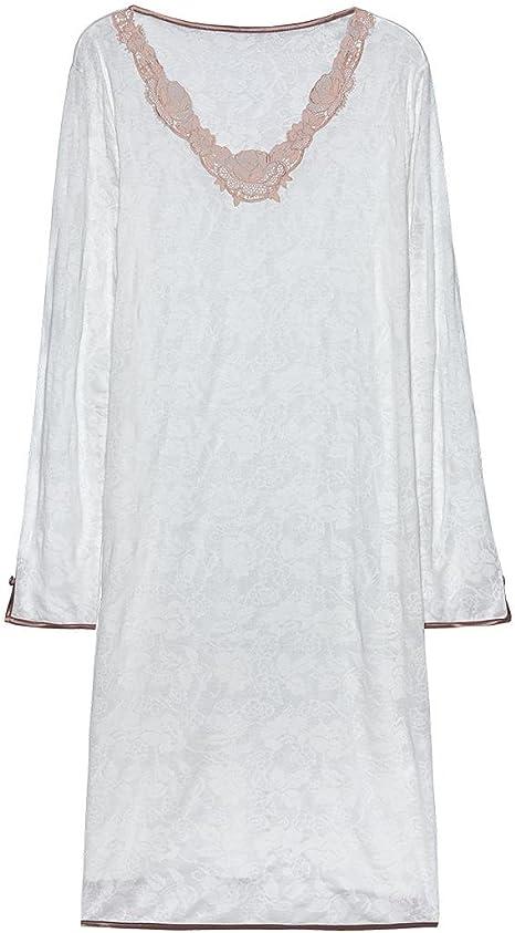 Intimissimi Camicia Da Notte Donna Elfenbein 2127 Large Amazon It Abbigliamento