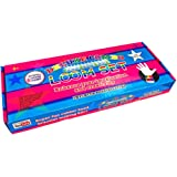 Deluxe Combo Loom Set - 1200 Multi coloured loom bands included of different varieties