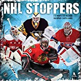 NHL Stoppers 2018 Wall Calendar (English and French Edition)