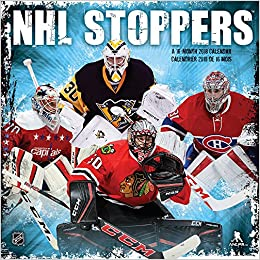 Nhl Stoppers 2018 Wall Calendar English And French Edition Trends