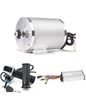 Electric Brushless DC Motor Complete Kit, 48V 2000W 4300RPM High Speed Motor, With 33A