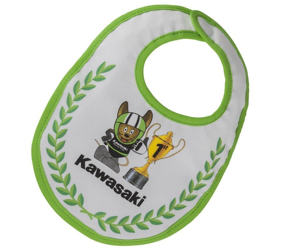 Hermoso Babero de la marca kawasaki para lucirhttps://amzn.to/2IaS6la