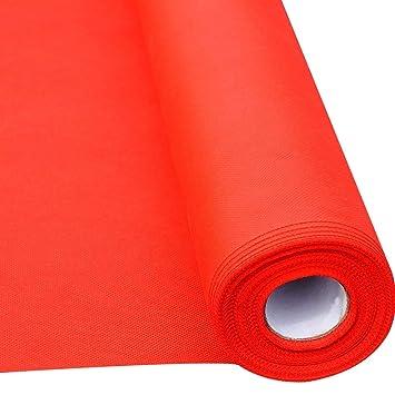 /épaisseur 0.5mm, largeur 2 DITAN Tapis rouge taille : 1 * 50m tapis r/ésistant /à lusure antid/érapant jetable en plein air pour f/ête de mariage