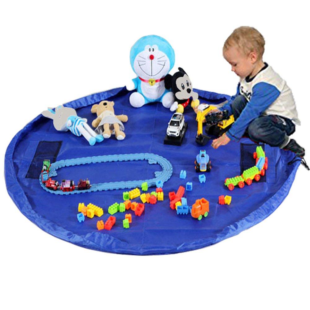 Boonor Kinder Aufräumsack Spieldecke Spielzeug Speicher Tasche Aufbewahrung Beutel Spielzeugaufbewahrung XL