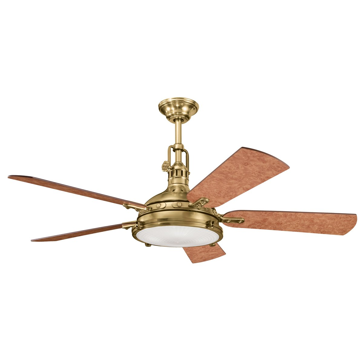 fans ceiling blade blades products carlo monte ceilings fan steel included discus homeclick kit light stainless with