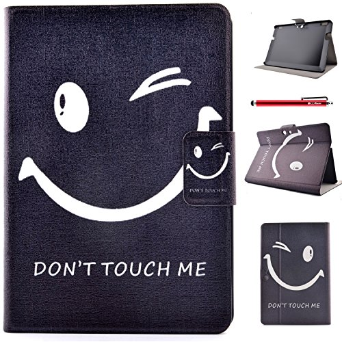 Amazon Kindle Fire HDX 8.9 Case, FugouSell Ultra Slim Soft Silicone + PC Hybrid Smart Shell Case Cover for Amazon Kindle Fire HDX 8.9 (Don't Touch Me)