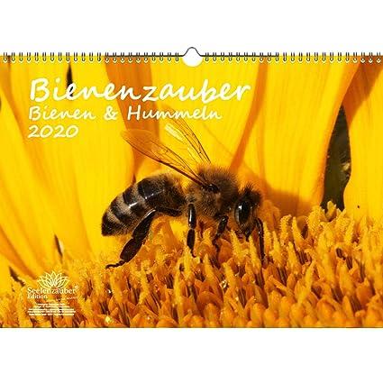 Calendario de 2020, diseño de abejas y abejas, DIN A3, set de ...