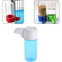 Hukai Automatic Bird Feeder Food Water Storage Plastic Parrot Cage Pet Drink Container