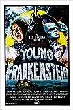 GENE WILDER MADELINE KAHN young frankenstein 1974 movie poster 24X36 CAMPY (reproduction, not an original)