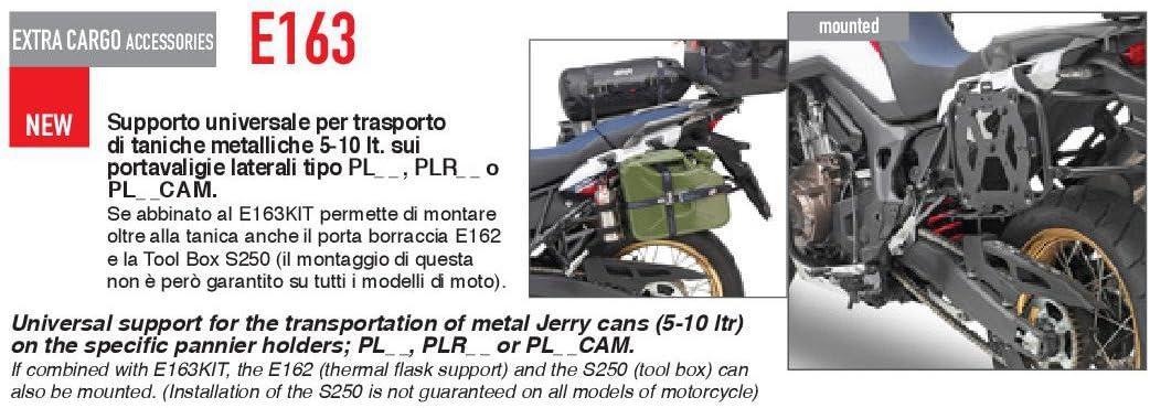 Supporto universale per trasporto di taniche metalliche 5-10 lt E163 GIVI